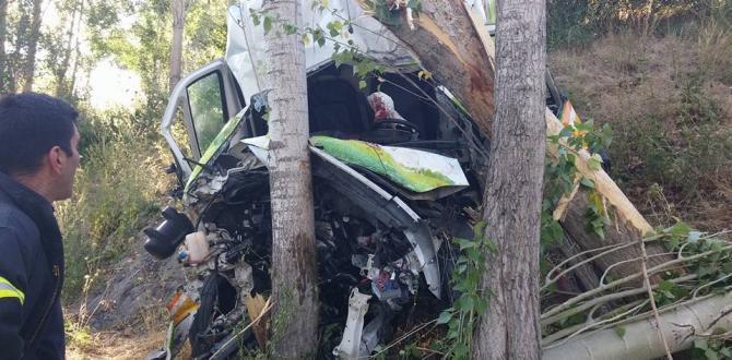 Trafik Kazası 1 Ağır Yaralı
