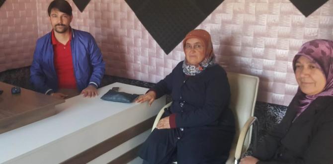 Ak Parti Afşin Kadın Kolları Başkanı Hidayet Çakmış Afşin FM'i Ziyaret Etti