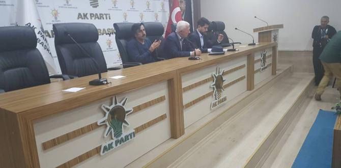 Ak Parti Eylül Ayı İlçe Danışma Meclisi Toplantısını Yaptı.
