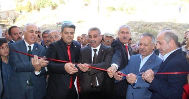 CHP Afşin Teşkilat Binası Törenle Açıldı.