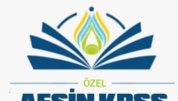 Afşin KPSS Kursundan Ücretsiz Ders