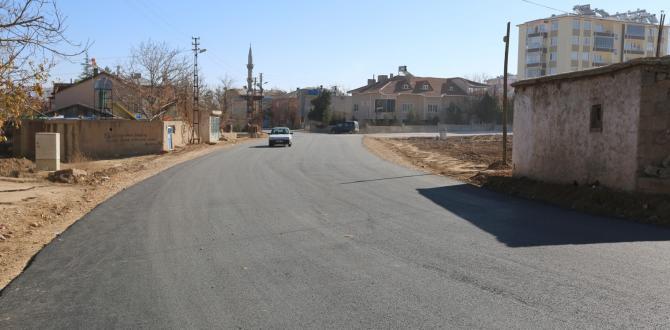 Afşin Belediyesi Asfalt Çalışmalarına Hız Kesmeden Devam Ediyor.