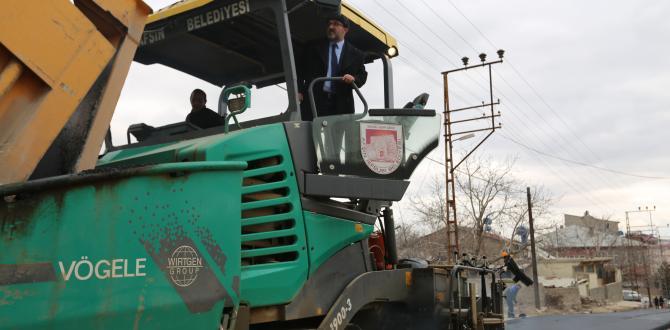 Afşin Belediyesi Asfalt Çalışmalarına Beyceğiz Mahallesiyle Devam Etti