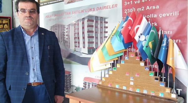 """İşadamı İsmail Polat;"""" Başka Türkiye Yok"""""""