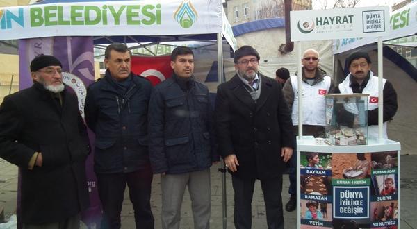 Hayrat Vakfı Halep İçin Yardım Kampanyası Başlattı
