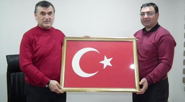 İşadamı Mehmet Özdemir Afşin FM ve Efsus Haber'e Ziyarette Bulundu.