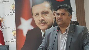 Ak Parti Afşin İlçe Başkanı Av.Şeref Kırbıyık Görevi Bıraktı.