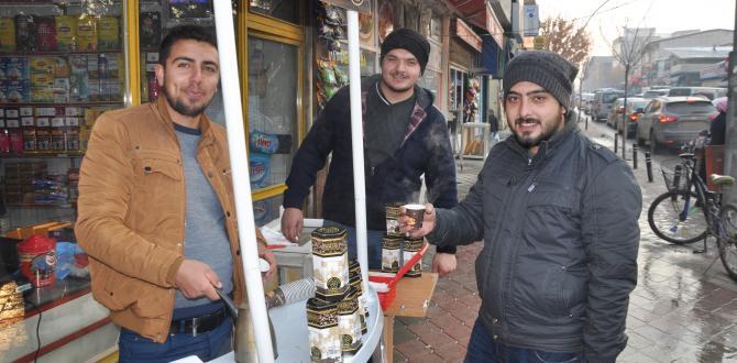 Eshab-ı Kehf Kahve Lezzet Dağıtıyor