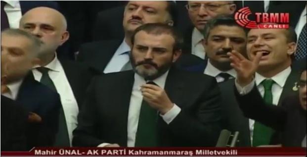 Ünal CHP'nin Kürsü İşgaline Sert Çıktı.