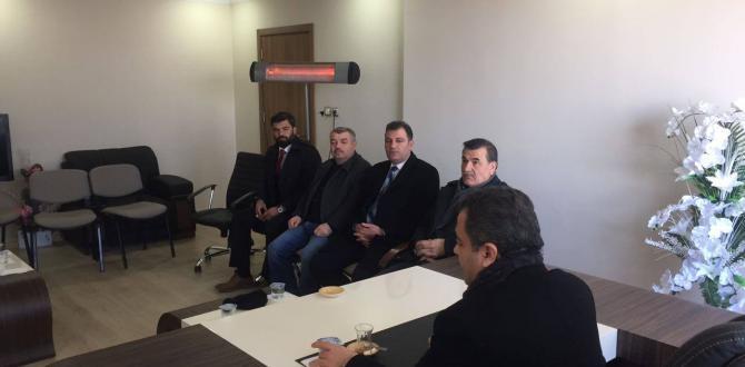 Milletvekili Çitil, Adaylarla Görüştü.