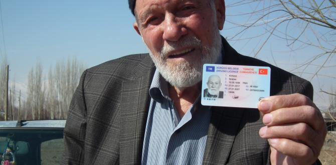 82 Yaşında Ehliyet Aldı!