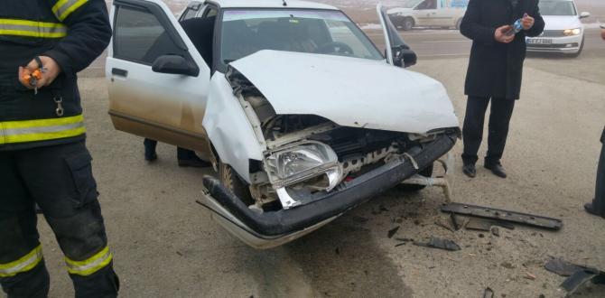 Afşin'de Trafik Kazası 5 Yaralı