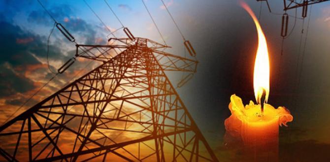 Afşin' de Elektrik Kesintisi