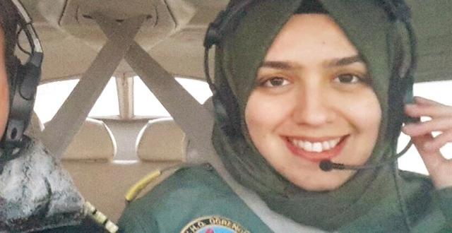 İlk Başörtülü Kadın Savaş Pilotu Afşin'den Çıktı.