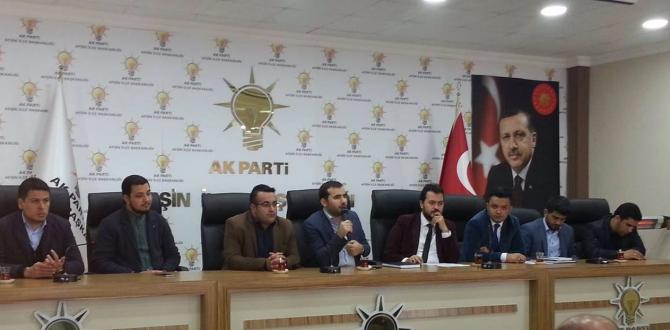 Ak Parti Gençlik Kolları Genişletilmiş Danışma Meclisi Toplantısını Yaptı.