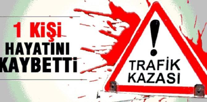 TRAKTÖR DEVRİLDİ 1 ÖLÜ!