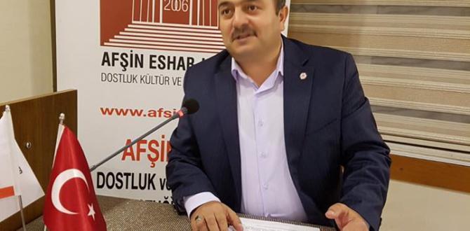 """AFŞİNDER """"HİCRET"""" İLE ALAKALI KONFERANS DÜZENLEDİ."""