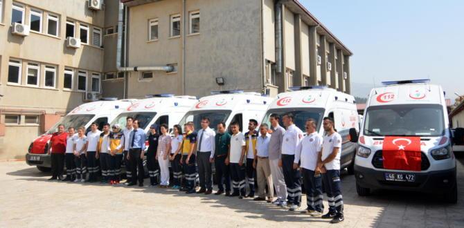 Yeni Ambulanslar İstasyonlara Teslim Edildi