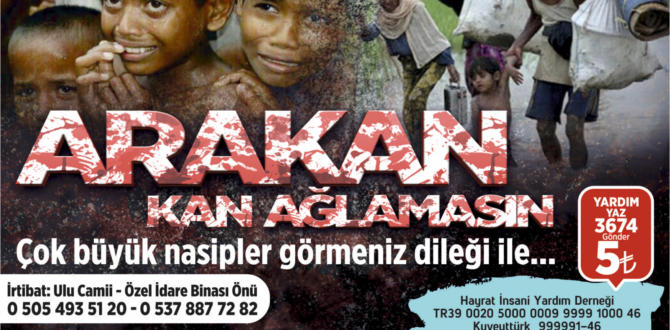 KAHRAMANMARAŞ ARAKAN'A SAHİP ÇIKIYOR.