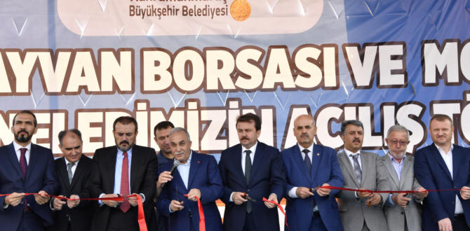 KAHRAMANMARAŞ CANLI HAYVAN BORSASI AÇILDI.