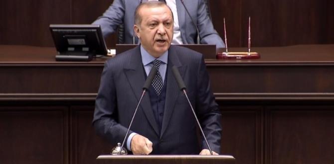 Erdoğan sert çıktı: Babamın oğlu olsa…