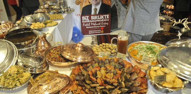 MARAŞ LEZZETLERİ VE MUTFAĞI İSTANBUL'DA.