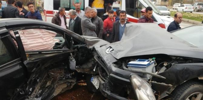Trafik Kazası 2 Yaralı!