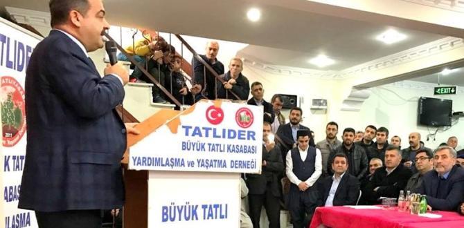 İlker Çitil Tatlıder İstanbul'da İstişare Etti!