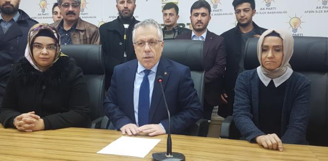 """Ak Parti İlçe Başkanı Safi: """"Yönetim vesayet odaklarına teslim edildi"""""""
