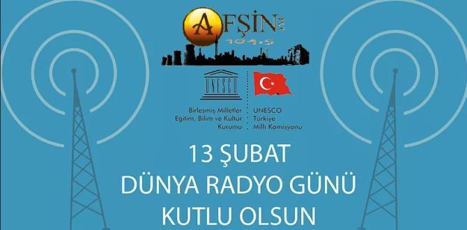 13 Şubat Dünya Radyo Günü Kutlanıyor.