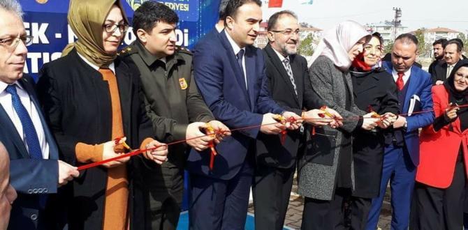 """Türkiye'de Bir İlk """"Mikro Kredi Afşin Satış Merkezi"""" Açıldı."""