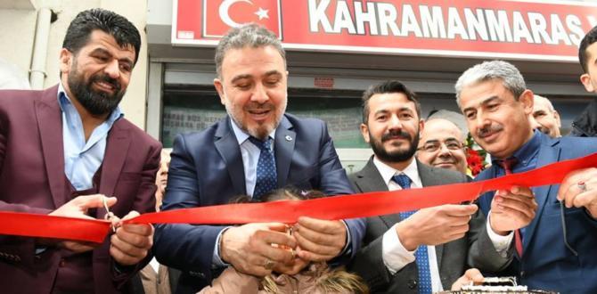 İstanbul'da Kahramanmaraş Bir Oldu!