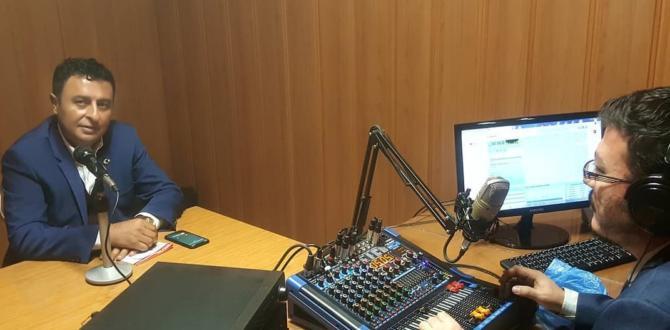 İYİ Parti Belediye Başkan Adayı Adem Yıldız Radyo Konuğu Oldu.