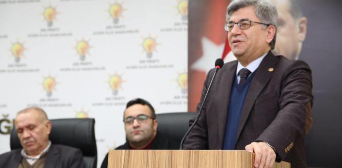 Sefer Aycan'dan Ak Parti ve MHP'ye Ziyaret.