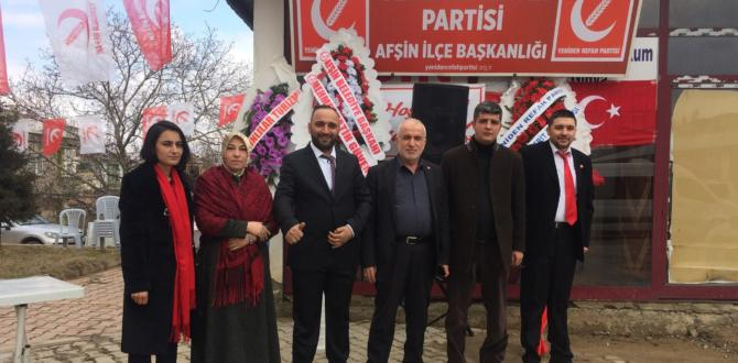 Yeniden Refah Partisi Açıldı.
