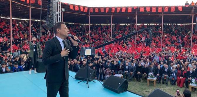 Mustafa Yıldızdoğan Afşin'i Coşturdu.