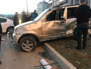Afşin'de Trafik Kazası 3 Yaralı.