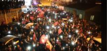 Başkan Güven Bayrak Yürüyüşü İle Gövde Gösterisi Yaptı.