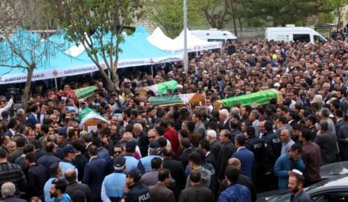 Şanlıurfa Kazasında Ölenler Toprağa Verildi.