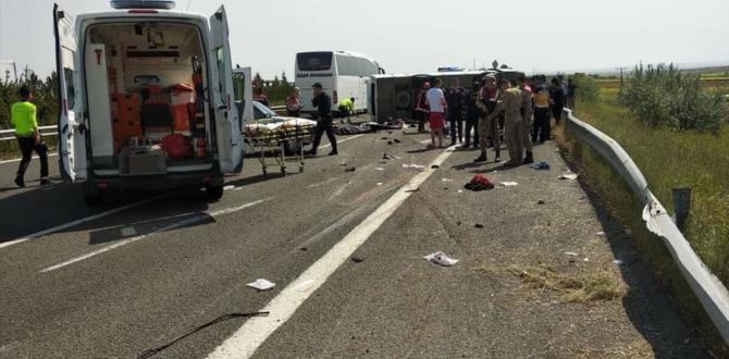 Sağlık Camiasını Üzen Trafik Kazası 5 Ölü.
