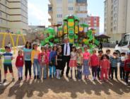 Efsus Turan Mahallesine Bayırbucak Türkmen Parkı.