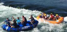 Ceyhan Nehri'nde Rafting Zamanı.