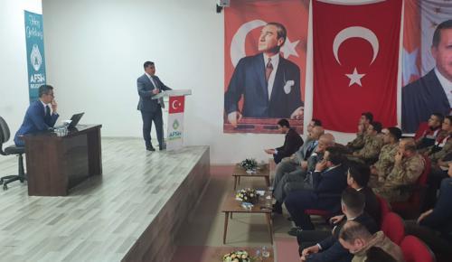 Elbistan Cumhuriyet Savcılığından Afşin'de Bilgilendirme Toplantısı!