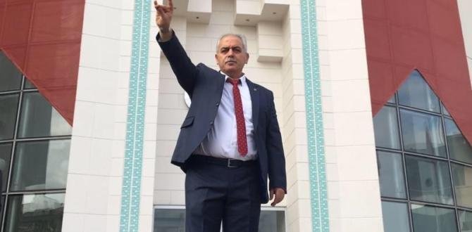 MHP Afşin İlçe Başkanı Aycan Oldu.
