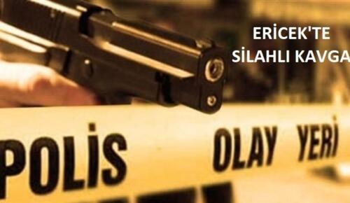 Ericek'te Silahlı Kavga!