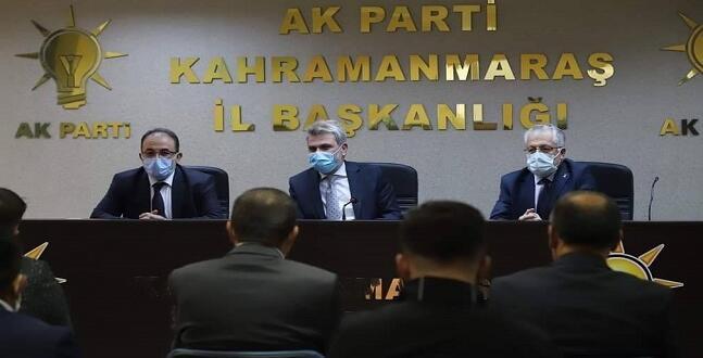 AK Parti Afşin Teşkilatından Fırat Başkan'a Hayırlı Olsun Ziyareti!