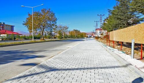 Afşin'de Caddeler Yenileniyor!
