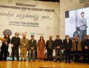 Kahramanmaraş Edebiyat Ödülleri Sahiplerini Buldu!