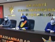 AK Parti Kadın Kolları Turuncu Kurdeleyle Kadına Yönelik Şiddeti Protesto Etti.