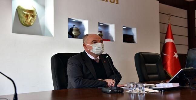 İL PANDEMİ KURULU VALİ COŞKUN BAŞKANLIĞI'NDA TOPLANDI!